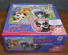 Littlest Pet Shop Jigsaw Puzzle Exclusive Angora Kitty Cat 24 pcs Age 3+ New Lps