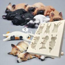 3D Dog Animal Model Silicone Fondant Chocolate Mould Cake Mold Baking Sugarcraft