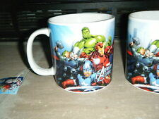 MARVEL AVENGERS ASSEMBLE 20 OZ COFFEE CUP MUG IRON MAN HULK THOR CAPTAIN AMERICA