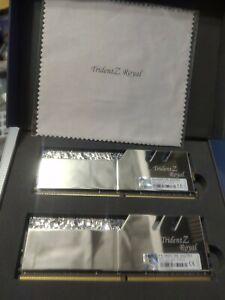 G.SKILL Trident Z Royal Series 64GB (4 x 16GB) 288-Pin DDR4 SDRAM DDR4 3600