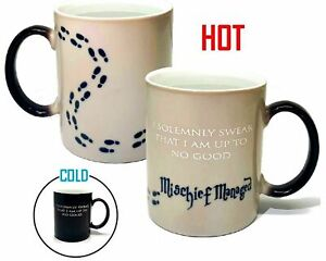 "HARRY POTTER I Solemnly Swear That I Am Up To No Good"" Color Changing Coffee Mug"