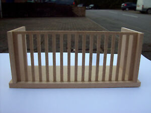 12th Scale Dolls House Balcony (Small 6 Inches Wide)