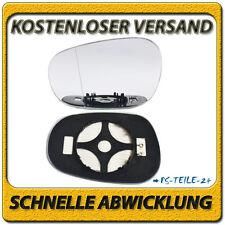 Asphärish Spiegelglas für BMW 3er E90 E91 10/2008+ links mit Platte beheizbar