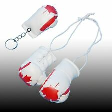 CANADA MINI BOXING GLOVES AND KEY CHAIN FOR THE REAR VIEW MIRROR