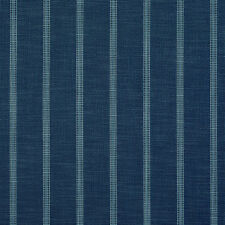 Clarence House OUTDOOR Upholstery Fabric OD Panama Stripe Indigo 2.45 yd 34836-7