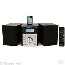 Pioneer 220 Volt DVD CD System with iPod iPhone Dock 220V Europe Asia Overseas