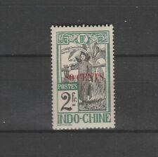 INDOCHINE colonie Française  80 sur 2f  surchargé de  1919   num: 87  *