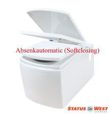 NEU Wand Hänge WC Toilette Bidet //Taha softclose WC-Sitz abnehmbar Design ST0115