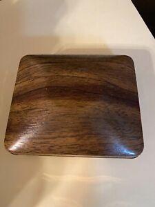 Vintage Estate Timex Electric Presentation Watch  Box (box only) Wood Grain Look