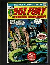 SGT. FURY AND HIS HOWLING COMMANDOS 112 f- 5.5 BARON STRUCKER FRIEDRICH AYERS