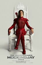"Hunger Games Mockingjay Part 2 Adv C Two Sided 27""x40' inches Movie Poster"