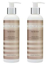 2x For All My Eternity Tan & Tone Firming Toning Self Tan Fake Tan Lotion Skinny
