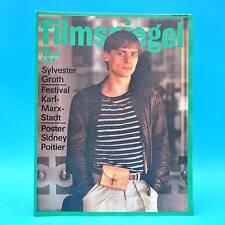DDR Filmspiegel 12/1984 Shirlay MacLaine Sidney Poitier Adele Sandrock Groth A