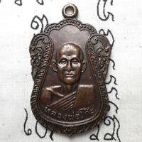 Genuine Thai Amulet Pendant Phra LP Ko Magic Talismans Wealth Life Protect Rare
