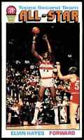 1976-77 TOPPS ELVIN HAYES VG/EX+ WASHINGTON BULLETS #133