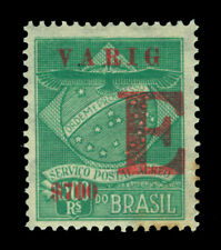 BRAZIL 1928 AIRMAIL - VARIG - Special Delivery  700r/1300r  Scott# 3CLE1 mint MH