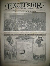 JOURNAL EXCELSIOR N° 263 CONGO NEGOCIATIONS FRANCO-ALLEMANDE ROYAN VICHY .. 1911