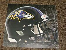 "BALTIMORE RAVENS HELMET NFL Fathead Wall Graphics 11"" x 9""  (Poster/Sticker)"