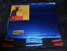 Black Cat Morpheus Loudspeaker Jumper Cables (4) - 275mm - Brand New- F/S.