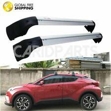 Silver Aluminum Alloy+ABS Roof Rack Roof Bar Cross Bar For Toyota CHR 2018-2020