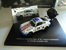Universal Hobbies 1/43 Porsche 911 Carrera RSR #69 Le Mans 1975
