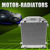 Aluminum Radiator Ford FlATHEAD Flat Head Engine 14/V6 1932-1940 34 36 38 3 Row