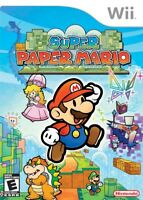 Super Paper Mario - Nintendo  Wii Game