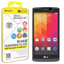 AMZER Tempered Glass HD Screen Guard Protector For LG Leon H326 H320 C40 4G H340