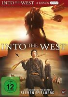 GRAHAM GREENE,MATTHEW MODINE BEAU BRIDGES - INTO THE WEST MB  4 DVD NEUF