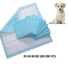 PUPPY TRAINING 60X40CM PADS 20 40 60 80 100 200 SET TOILET PEE WEE PET DOG MATS