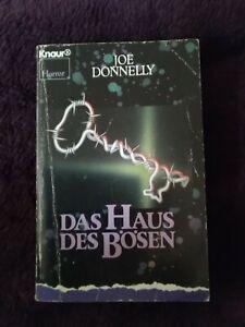 Joe Donnelly: DAS HAUS DES BÖSEN, Knaur Horror TB