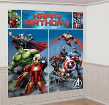 NEW  AVENGERS NEW STYLE SCENE SETTER 5 PIECE WALL DECORATION