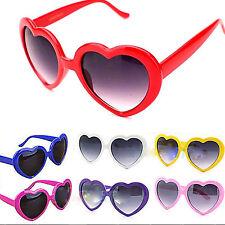 Hi Vintage Retro 11 Color Men Women Fashion Lolita Heart Shaped Love Sunglasses