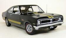Autoart 1/18 Scale 73414 Holden Monaro HT GTS 350 Warrigal Black Gold stripes