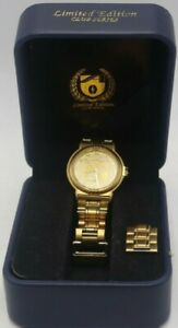 Essendon Limited Series Mens Gold Watch 436 of 500