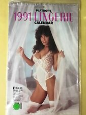 PLAYBOY Lingerie Wall Calendar 1991. New Sealed.    Sexy Nude Women. Naked Sex.