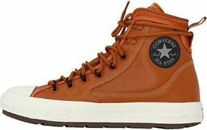 Converse Unisex CTAS All Terrain Hi Shoes Amber Sepia/White Size 10.5 (W 12.5)
