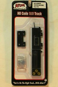 NIB HO Atlas 52 Left Hand Remote Switch Machine Code 100 Snap Track