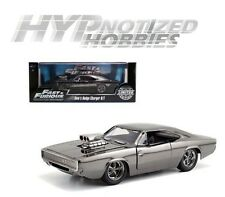 JADA 1:24 FAST AND FURIOUS 1969 DODGE CHARGER DIE-CAST CHROME 54046