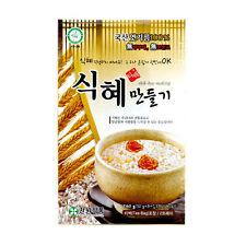 Homemade Shik Hye, Korean Rice Punch, Korean Traditional Beverage, Sikhye Drink