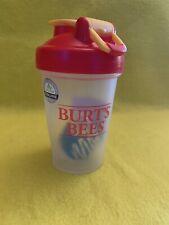 Blender Bottle Special Classic 20 oz. SpoutGuard Shaker Burt's Bees Red & Yellow