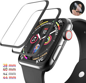 Clear Full Screen Protector For Apple Watch iWatch 6 5 4 3 2 1 SE 38/40/42/44 mm