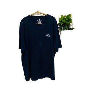 Tommy Bahama Men's Dark Blue Short Sleeve T Shirt Lawn Enforcer Size XXXL