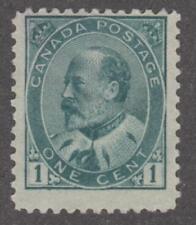 Canada #89 unused 1903 Edward VII 1c cv $45