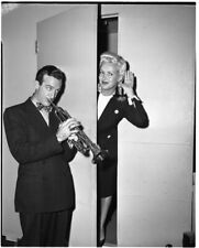 Betty Grable Harry James playing trumpet Iconic Original 5x4 B/W Camera Negative
