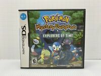 Complete Pokemon Mystery Dungeon: Explorers of Time (Nintendo DS, 2008) Cib G1