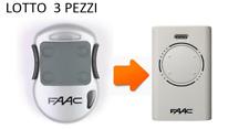 FAAC 868 XT2 RADIOCOMANDO ROLLING CODE BIANCO ( 3 PEZZI )