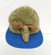 Vintage 1982 Texas Armadillo Mascot Dillo Cap #2045 Hat - NWT