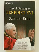Joseph Ratzinger Benedikt XVI Salz der Erde Taschenbuch