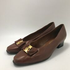 Van Dal Shoes UK 5.5 Brown Women's Casual Slip On Closed Toe Leather 321497